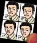キム次長の切手シート
