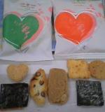 それぞれのパッケージと「七つの恋し」の中身