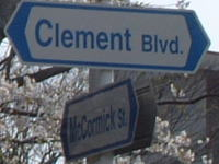 Clement Blvd. and McCormick St.