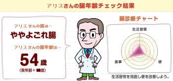 腸年齢診断結果(その2)