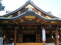 湯島天神 社殿