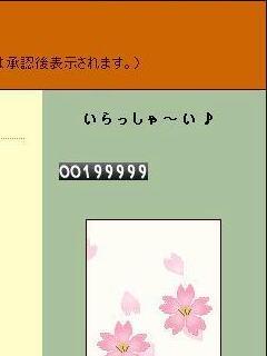 19万9999カウント